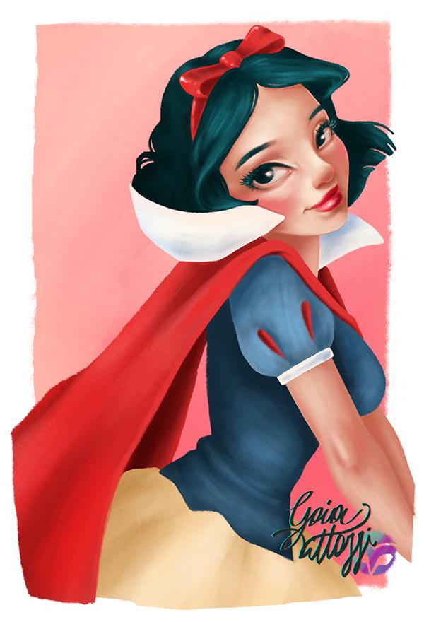 diseños de personajes por Gaia Vittozzi 4