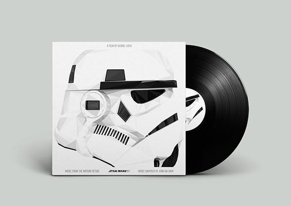 diseños portadas soundtracks poligonales 1