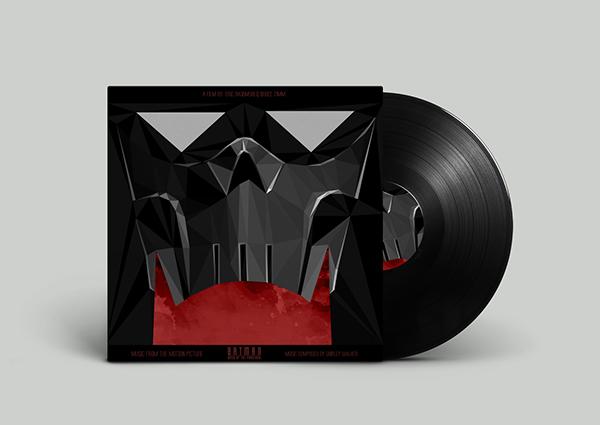 diseños portadas soundtracks poligonales 2
