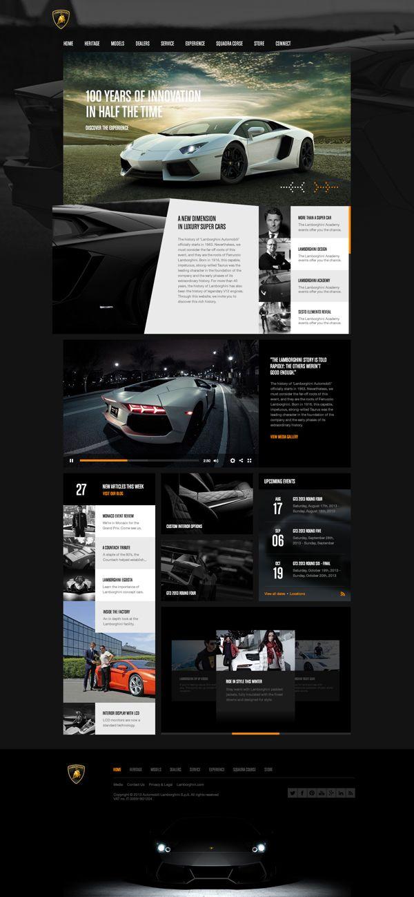 Lamborghini Concept por Peter Osmenda