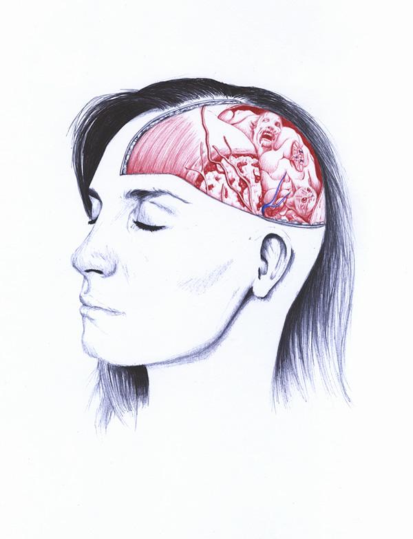 extrañas ilustraciones anatomia 5