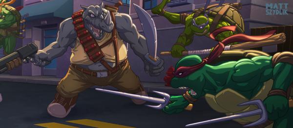 fan art tortugas ninja Matt Szydlik 3