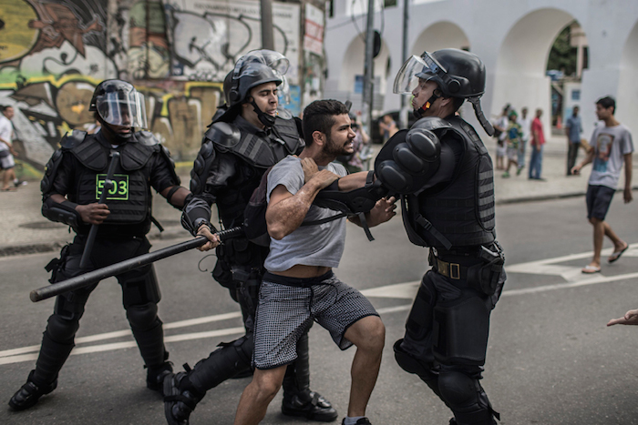 BRAZIL PROTESTS FIFA WORLD CUP 2014