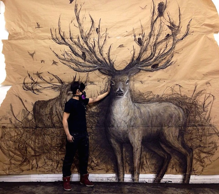 ilustraciones 3D animales Fiona Tang 6