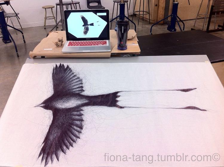 ilustraciones 3D animales Fiona Tang 8