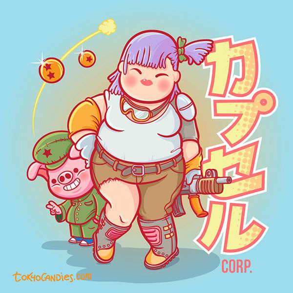 ilustraciones Akira Toriyama 3