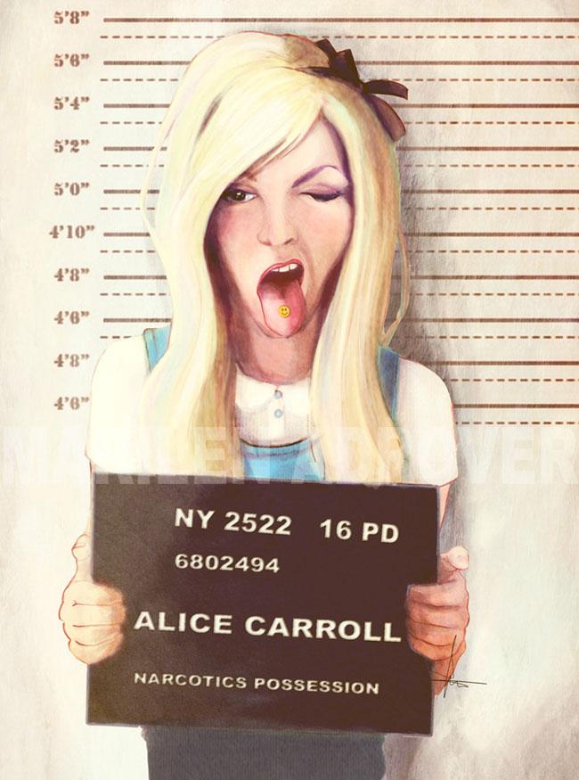 ilustraciones Marilen Adrover criminales alicia