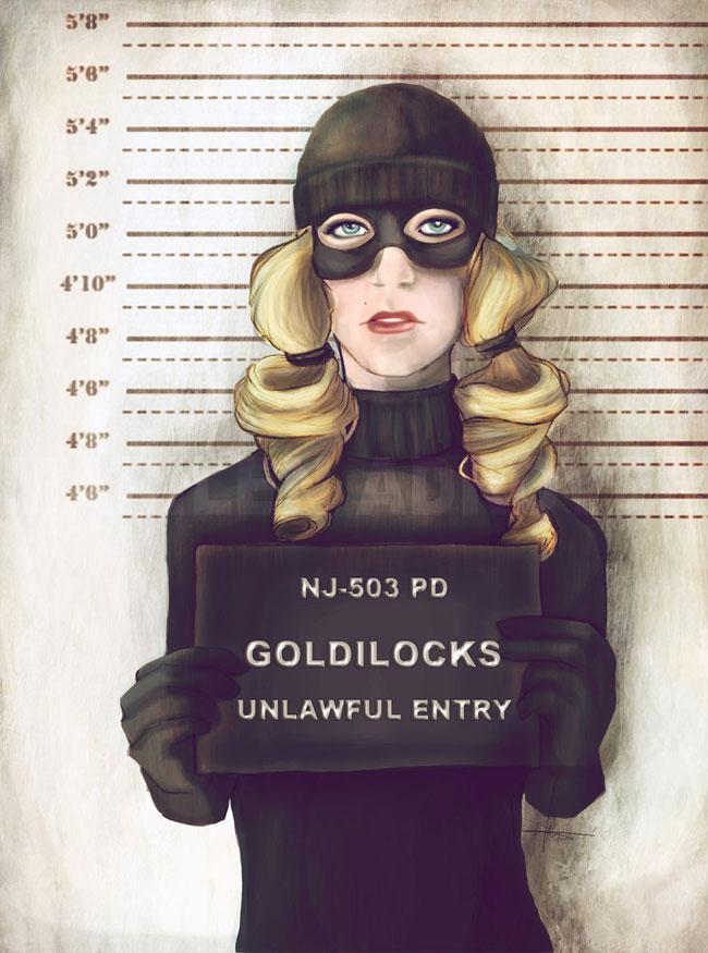 ilustraciones Marilen Adrover criminales rapunzel