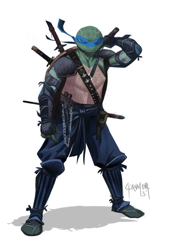 Leonardo de las tortugas ninja mutantes