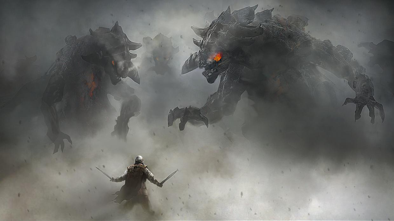 ilustraciones falls of gods 7