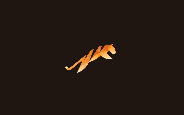 logos minimalistas animales tigre
