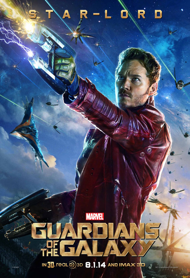 posters guardianes de la galaxia star-lord