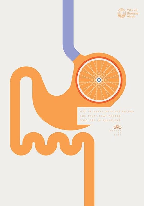 publicidad bicicleta buenos aires 1