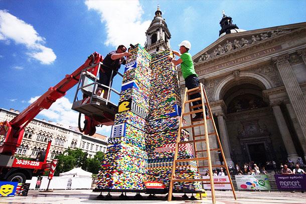 torre de lego mas grande 3