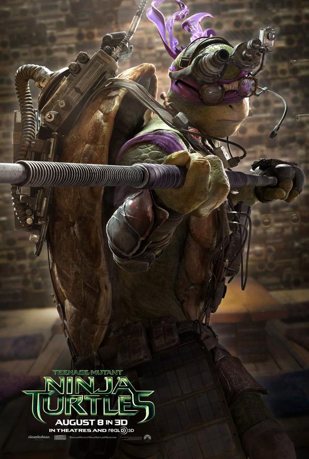 tortugas ninja posters donatello