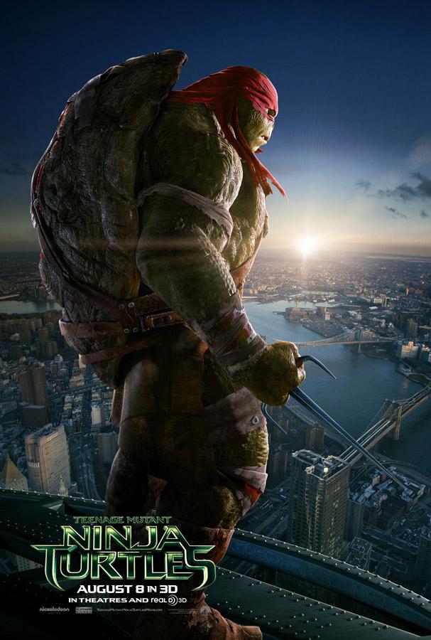 tortugas ninja posters rafael