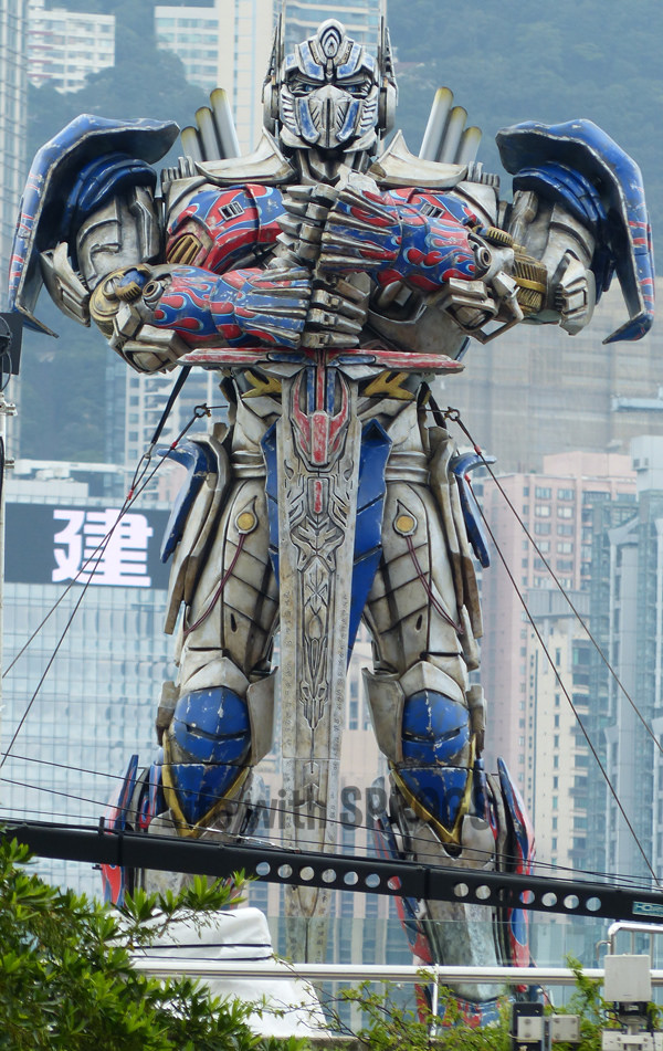transformers 4 estatus de optimus prime 1