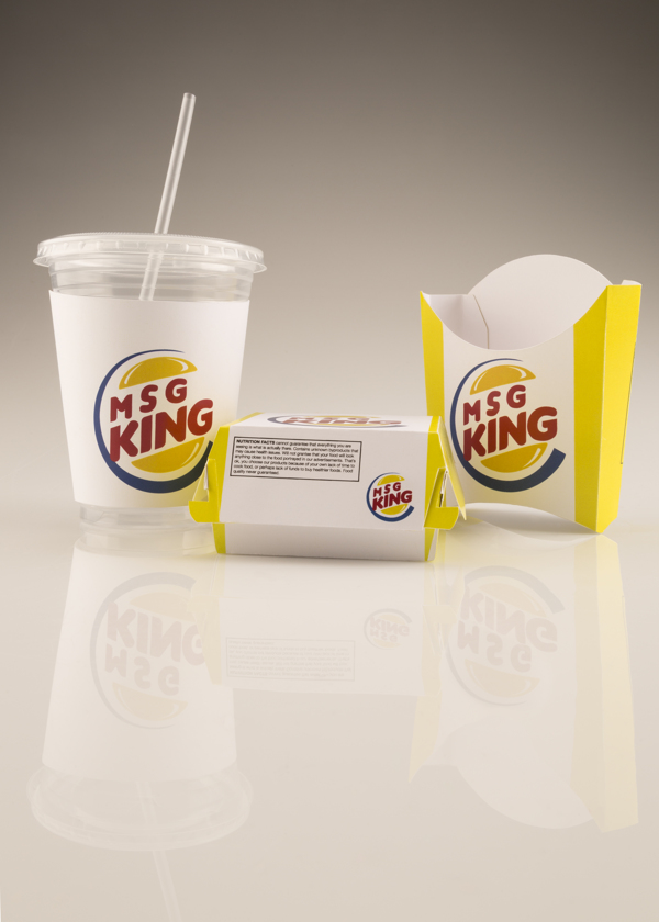 Ashley Comer parodias de logos Burger King