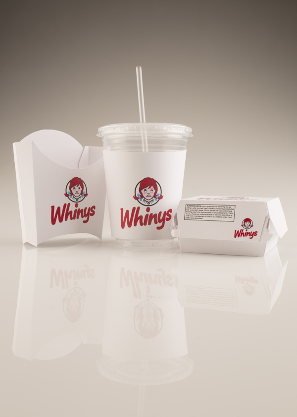 Ashley Comer parodias de logos wendys