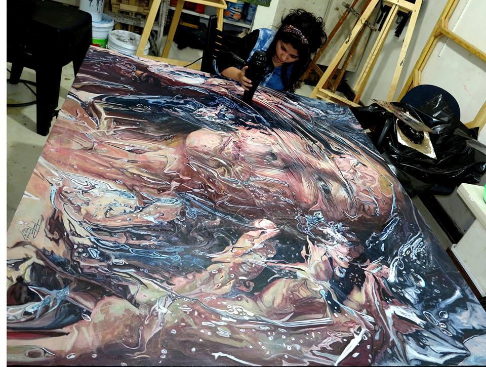 Paulina Jaimes pintora mexicana