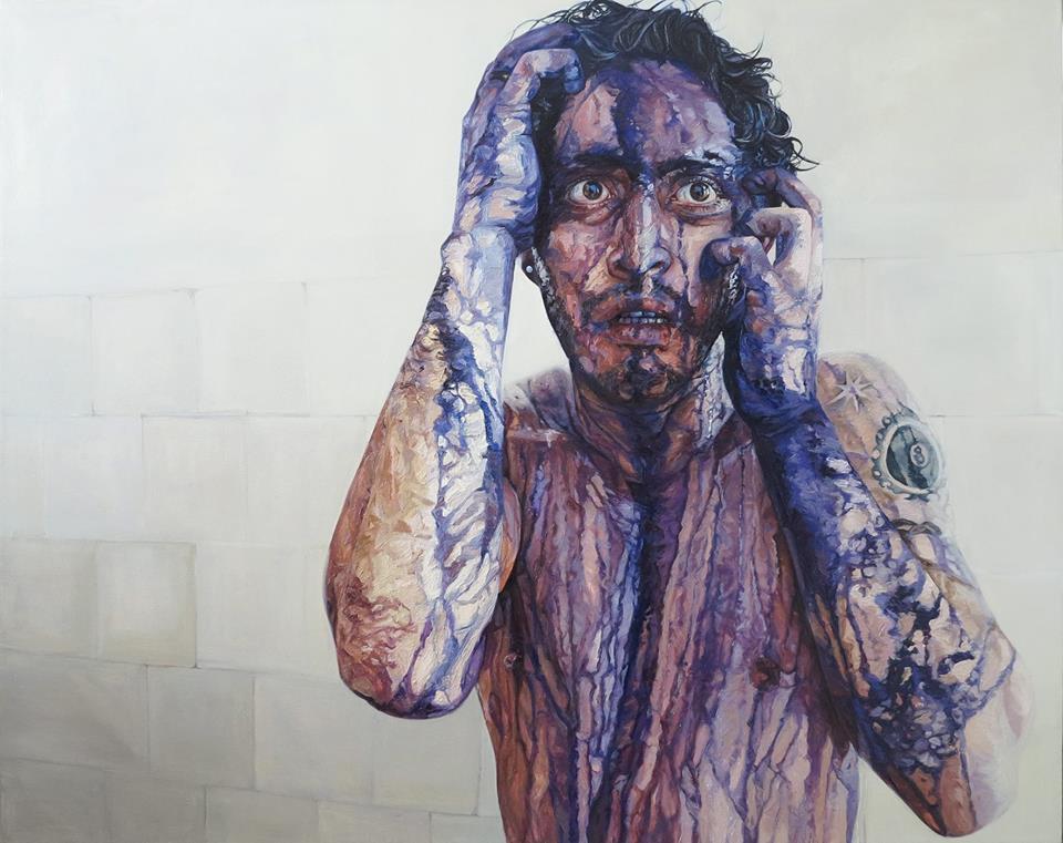 Paulina Jaimes pintura man