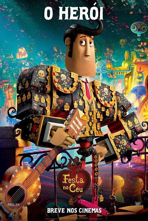 """Posters de la película animada """"El Libro de la - Frogx"""