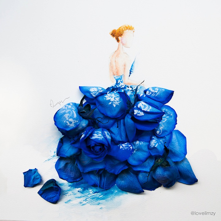 arte petalos de flores 1