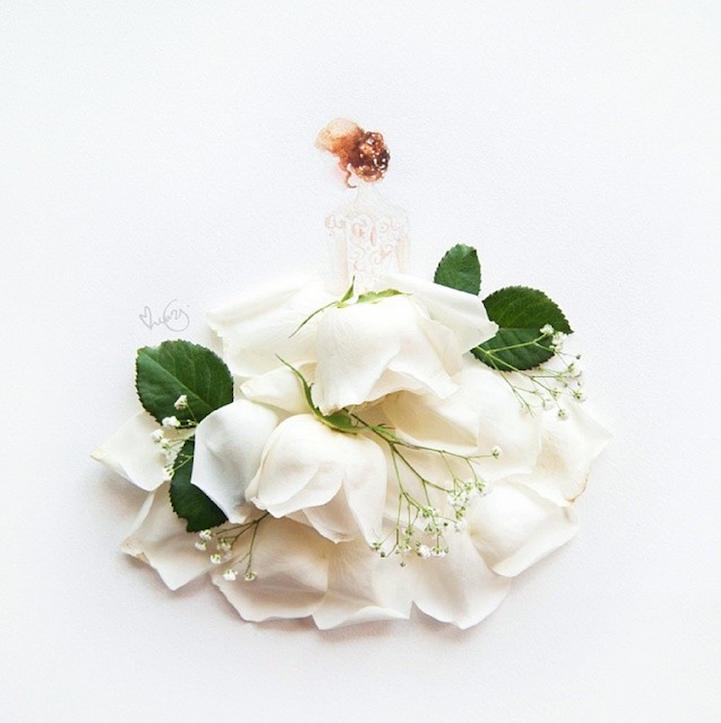 arte petalos de flores 10