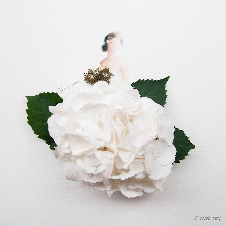 arte petalos de flores 2