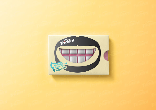 concepto packaging trident 8