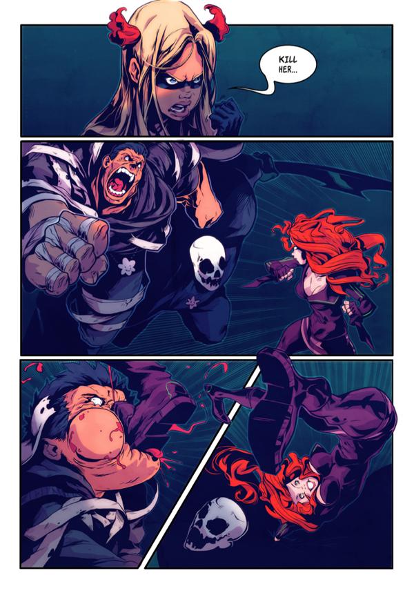ilustraciones Michael Anderson comics