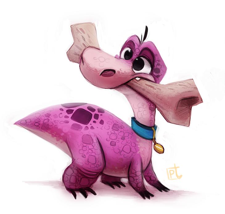 ilustraciones personajes piper thia 3