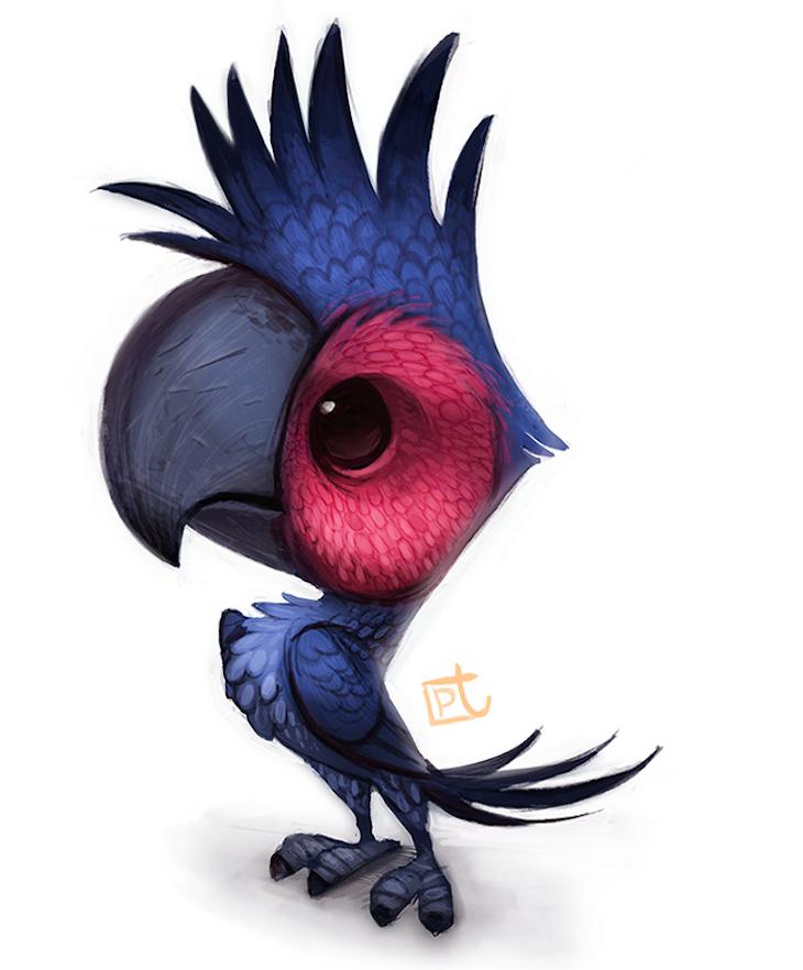 ilustraciones personajes piper thia 4