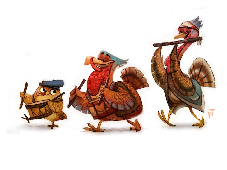ilustraciones personajes piper thia 6