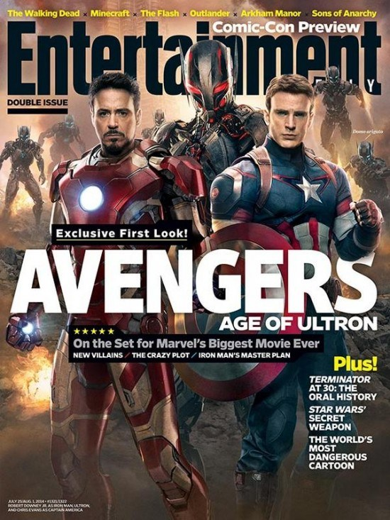 imagenes oficiales Avengers Age of Ultron 2
