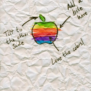 logo Apple Sharpie