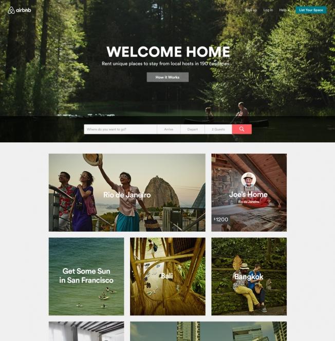pagina airbnb