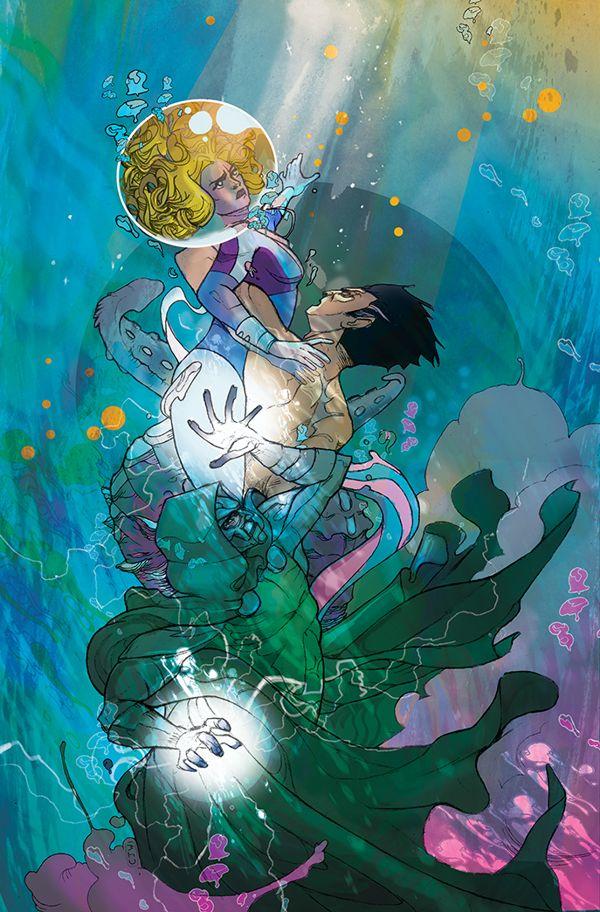 portadas de comics aquaman