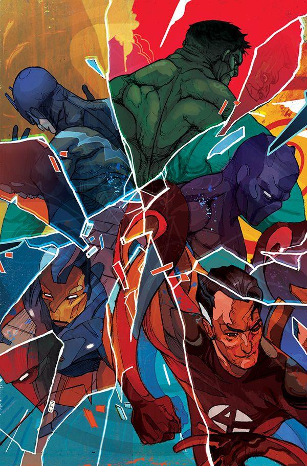 portadas de comics avengers