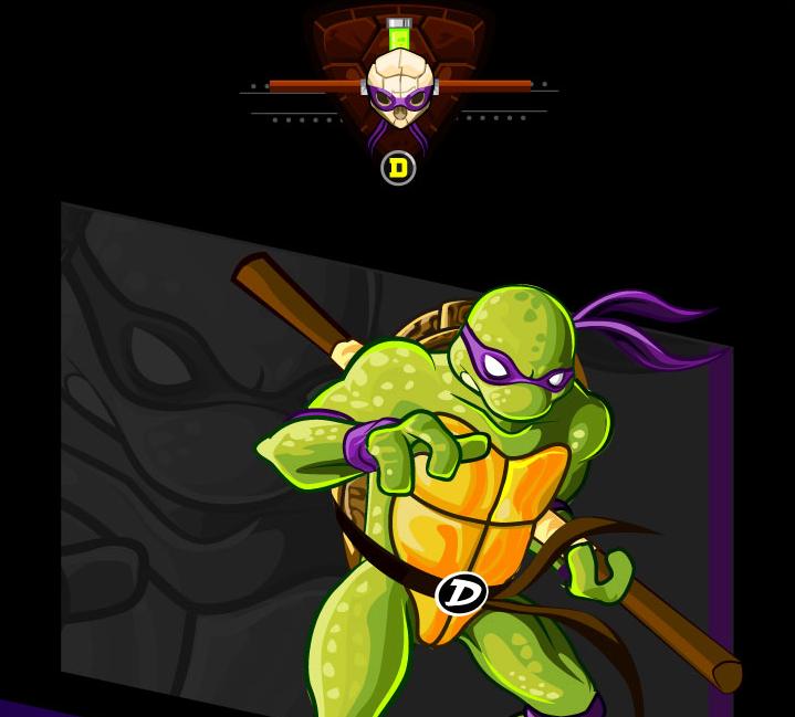 tributo tortugas ninja donatello