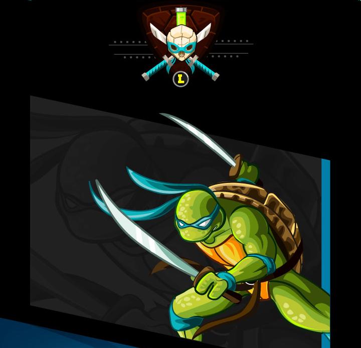 tributo tortugas ninja leonardo
