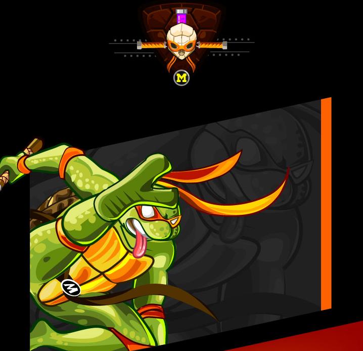 tributo tortugas ninja miguel angelo