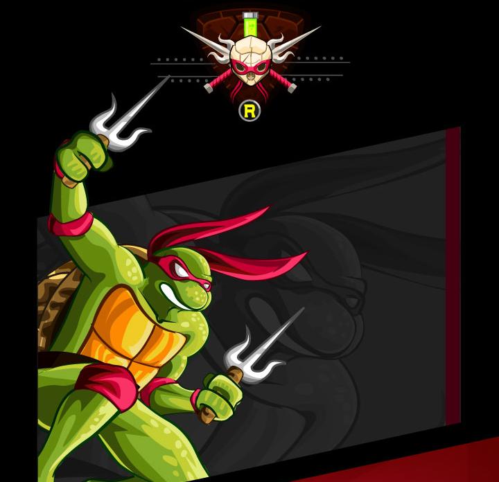 tributo tortugas ninja rafael