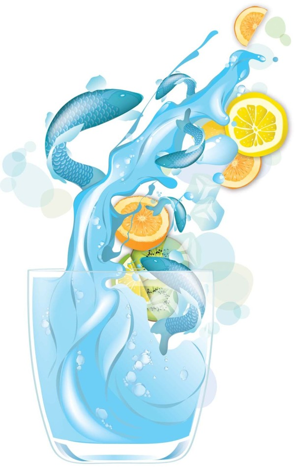 Tutorial para crear efectos de agua con Illustrator