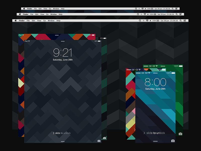 wallpapers geometricos