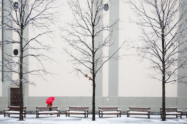 Winter por Beniamino Pisati