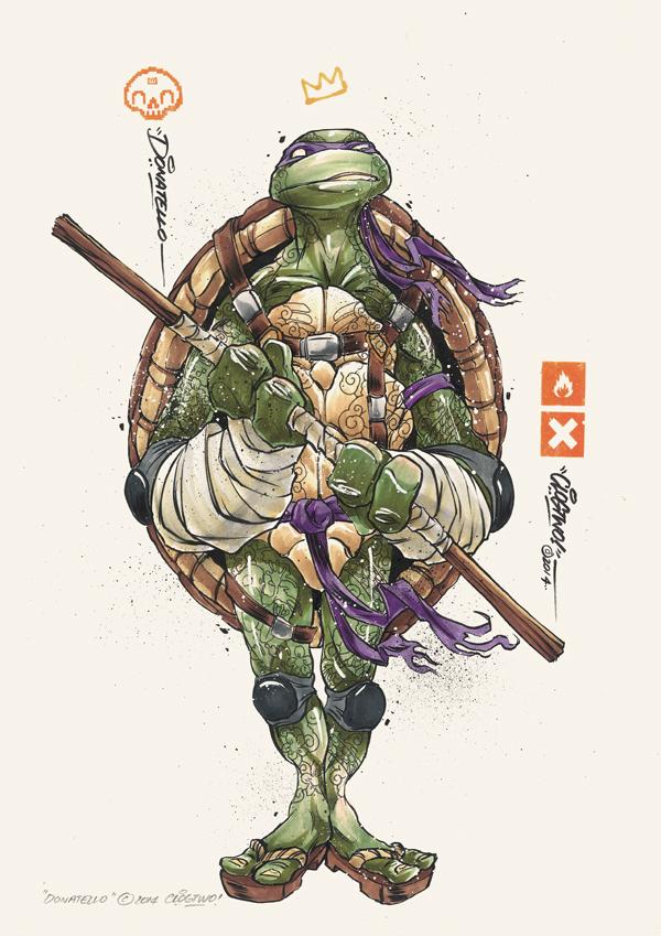 Tortugas Ninja Mutantes Clog Two 1