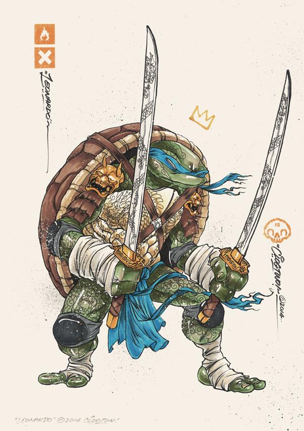 Tortugas Ninja Mutantes Clog Two 2