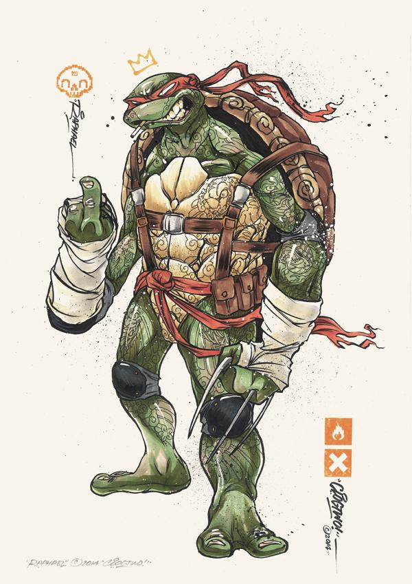 Tortugas Ninja Mutantes Clog Two 4