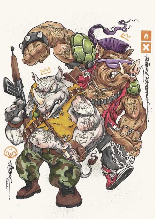 Tortugas Ninja Mutantes Clog Two 8